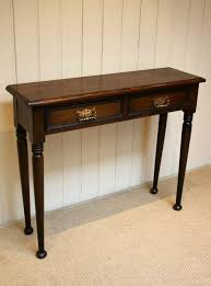 Narrow Hallway Furniture by Solid Oak Narrow Hall Table Antiques Atlas