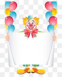 wedding invitation clown birthday greeting card vector show clowns wedding invitation greeting card birthday a clown png