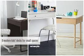 Small Kid Desk 9 Modern Desks For Small Spaces Cool Picks