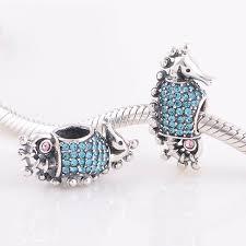 diy bracelet pandora beads images Fits pandora charms bracelet 925 sterling silver bead blue pave jpg