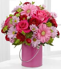 fds flowers the color your day with happiness bouquet by ftd vase included