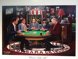 the alabama poker table of all nat u0027l champ coaches our things