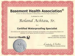Basement Waterproofing Specialists - american a 1 waterproofing central u0026 north jersey basement