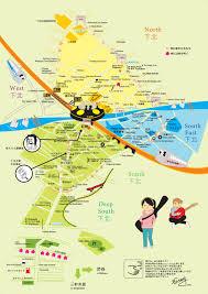 Map Japan Shimokitazawa English Map Japan Fun Times Yay Pinterest