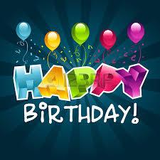 happy birthday greeting card royalty free cliparts vectors and