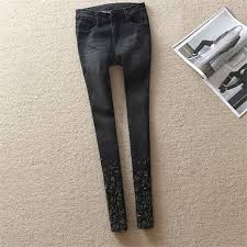 Plus Size Ripped Leggings Pant Pants Picture More Detailed Picture About New Leggings Plus