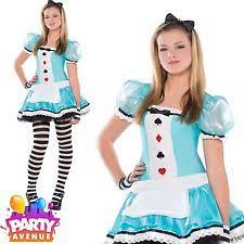 amscan alice in wonderland costumes for girls ebay