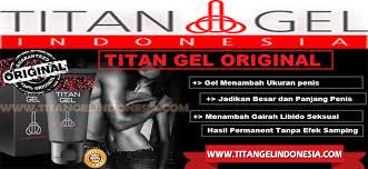 titan gel penis pria asli