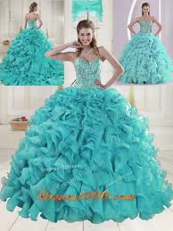 aqua green quinceanera dresses aqua blue sweetheart brush beading quinceanera dresses new