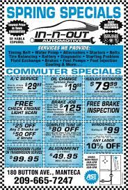 Brake And Light Inspection Price In N Out Automotive In N Out Automotive