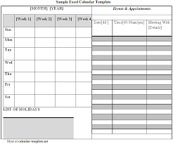 Excel Calendars Templates Excel Calendar Template Calendar Template