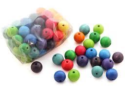 perle en bois pour attache tetine 60 perles en bois 20 mm jouets en bois grimm u0027s