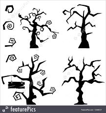 halloween trees halloween halloween tree set stock illustration i3358127 at