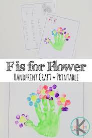 kindergarten worksheets and games letter f worksheets u0026 flower