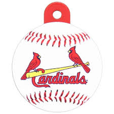 st louis cardinals baseball id tag athletic pets