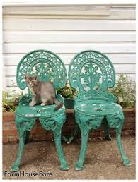 Turquoise Bistro Chair Just Got This Bistro Set In White For My Balcony U003c3 There U0027s No