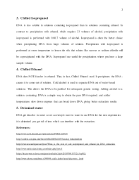 role of chemicals used in dna extraction recombinant dna technology u2026