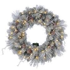 wreath artificial wreath wreath timer lighted wreath