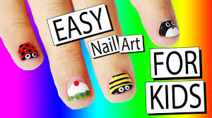 5 easy nail art designs for kids nailed it nz youtube