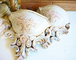 Shabby Chic Wall Sconces Shabby Chic Sconce Etsy