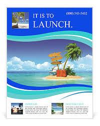 island brochure template island voucher bags flyer template design id 0000010564