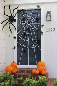 halloween door decorations homemade