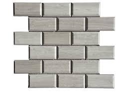 wooden gray limestone mosaic tile qdisurfaces