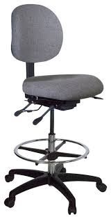 Chair For Drafting Table Ergo Drafting Chair No Arms Contemporary Office Chairs By