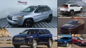 2017 jeep cherokee sport jeep cherokee all years and modifications with reviews msrp