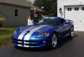 Dodge Viper Colors - 2006 dodge viper srt 10 coupe in blue with engine start up u0026 ride