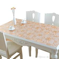 thanksgiving plastic table covers pvc coffee table mat waterproof tablecloths anti oil wash thickened