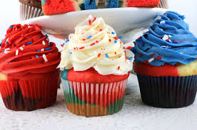 patriotic marble cupcakes two sisters crafting