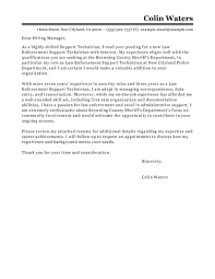 Sample Resume For Police Officer Resume Cover Letter Template Law Enforcement