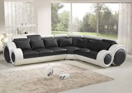 Indian Corner Sofa Designs Corner Black And White Top Graded Real Leather Sofa Suite
