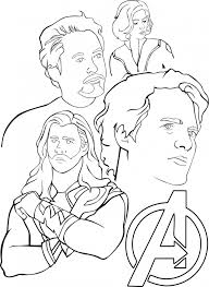 coloring pages of the avengers 20 free printable captain america coloring pages