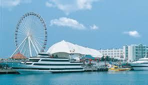 Navy Pier Map Chicago Navy Pier Chicago Hillside Hotel