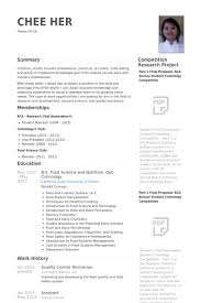 Controller Resume Examples by Quality Control Resume Samples Visualcv Resume Samples Database