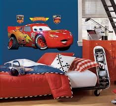 Lightning Mcqueen Rug Removable Wall Decals Disney U0027s Cars Wall Stickers Giant