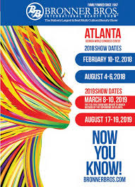 bonner brother winter hairshow in atlanta future show dates bronner bros international beauty show