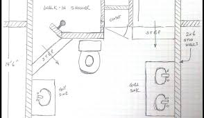 shower 3 piece bathroom layout awesome 3 piece tub shower combo