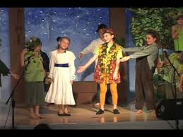 children s theater performance of pan highlights