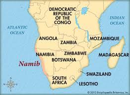 africa map kalahari desert namib desert britannica homework help