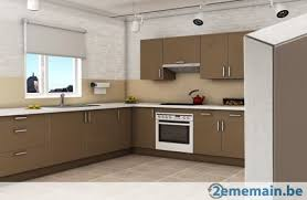 meubles de cuisine design cappuccino a vendre 2ememain be