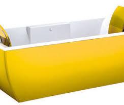 Yellow Bathtub Metal Bathtub From Blubleu New Kali Metal Collection