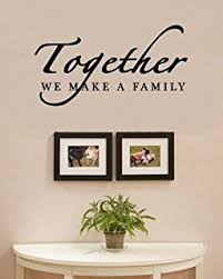 Amazoncom Family Wall Quotes Decals Stickers Home Decor Hanging - Family room wall quotes