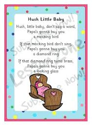 Nursery Rhymes Decorations Best Nursery Rhymes Hush Baby Lyrics Colorful Nursery