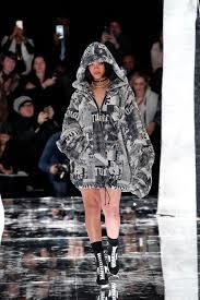rihanna debuts her genderless gothic designs at fenty x puma photos