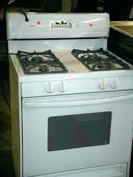 where is the pilot light on a gas oven kenmore oven pilot light plus gas stove pilot light best image