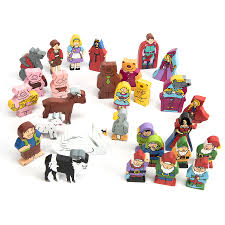 buy wooden small world fairy tale characters 29pk tts