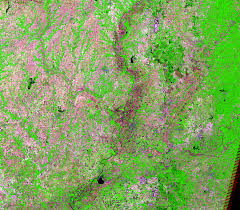 Map Of Illinois And Indiana by Illinois Indiana Usa Earthshots Satellite Images Of